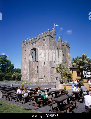 IRELAND County Clare Bunratty Castle Dirty Nelly s Pub - Stock Photo