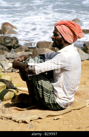 South India Tamil Nadu Chennai Beach Date 04 04 2008 Ref ZB573 111917 0063 COMPULSORY CREDIT World Pictures Photoshot - Stock Photo