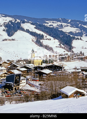Saalbach Landsalzburg Austria Ref WP STRANGE 3695 COMPULSORY CREDIT World Pictures Photoshot - Stock Photo