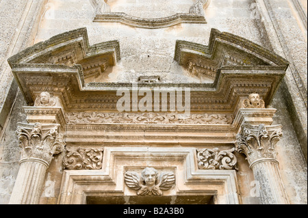 Baroque portico - Stock Photo