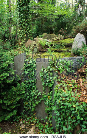 John P Humes Japanese Stroll Garden Hempsted New York Moss Path With Stock Photo Royalty Free