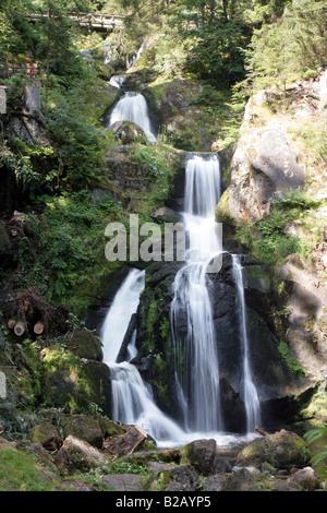 Triberg Waterfalls Black Forest Germany - Stock Photo
