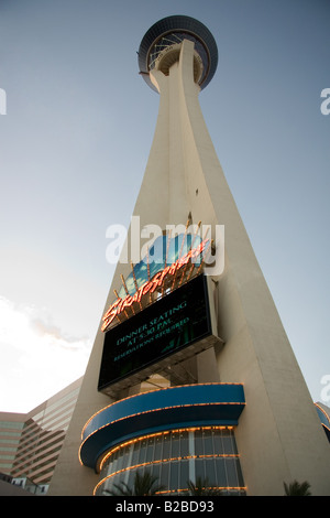 The Stratosphere Hotel and Casino in Las Vegas, Nevada - Stock Photo