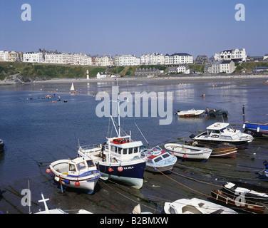 Port Erin Isle of Man England - Stock Photo