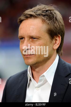 Horst HELDT, Manager VfB Stuttgart football team - Stock Photo