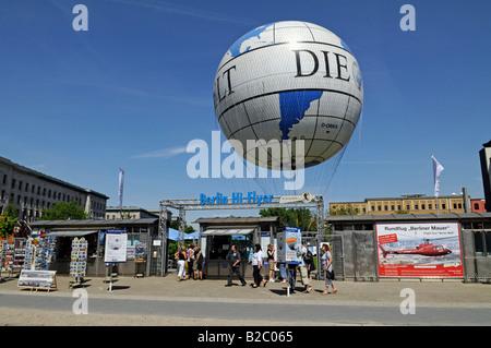 Hi Flyer Berlin, Germany, Europe - Stock Photo