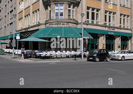Celebrities restaurant, Lutter & Wegner, Berlin, Germany, Europe - Stock Photo