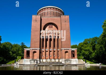 Planetarium, Observatory, City Park, Hamburg, Germany, Europe - Stock Photo