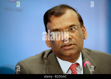 Ramakrishna Sithanen - Deputy Prime Minister,  Minister of Finance and Economic Development of Republic of Mauritius. - Stock Photo