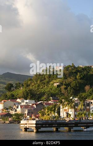 St Pierre Martinique - Stock Photo