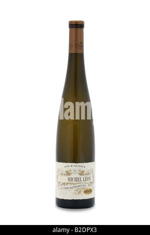 win d alsace michel leon gewurztraminer france wine red - Stock Photo