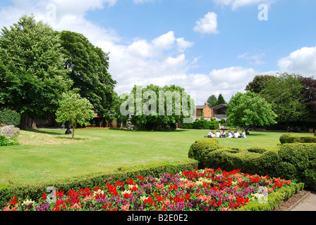 The Great Garden at New Place, Stratford-upon-Avon, Warwickshire, England, United Kingdom - Stock Photo