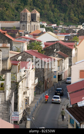 St Pierre Martinique West Indies - Stock Photo