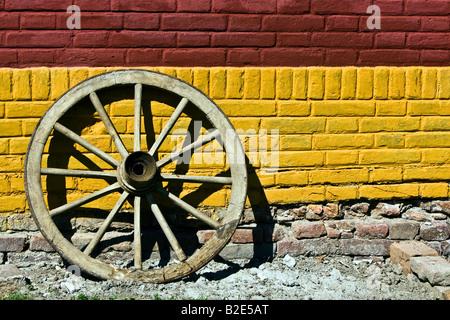 wheel wood axle spoke wheel wood carriage coach decoration retro ...