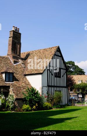 Oliver Cromwells House and Tourist Information Centre Ely Cambridgeshire England UK - Stock Photo