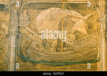 Medievam Wall Paintings Church Frescos Uk