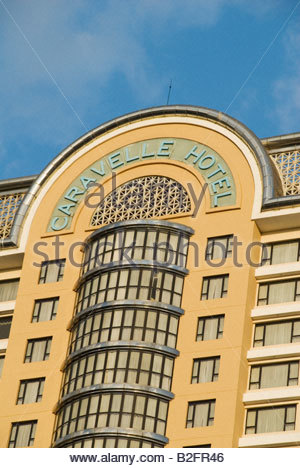 Caravelle Hotel in Ho Chi Minh City - Stock Photo