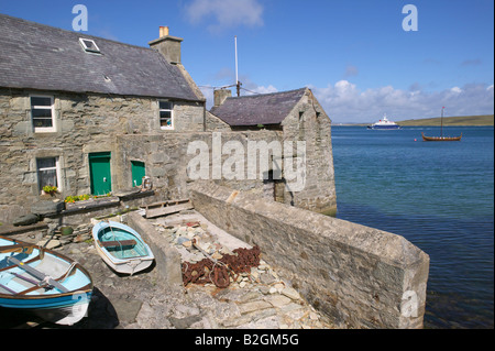 The Lodberries, Lerwick, Shetland Isles, Scotland, UK - Stock Photo