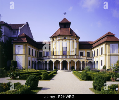 geography / travel, Germany, Bavaria, Ingolstadt, buildings, Alte Anatomie, exterior view, old anatomy, - Stock Photo