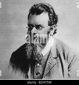 Boltzmann, Ludwig, 20.2.1844 - 5.9.1906, Austrian physicist, portrait, circa 1890, , Additional-Rights-Clearances - Stock Photo