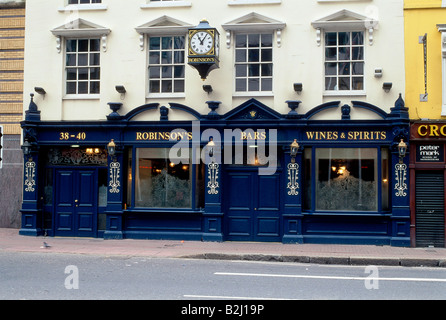 geography / travel, Great Britain / United Kingdom, Northern Ireland, Belfast, gastronomy, pubs, Robinson's pub, - Stock Photo