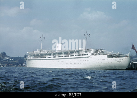 transport / transportation, navigation, passenger ships, 'Wilhelm Gustloff', commissioned 15.3.1938, sunk 30.1.1945, - Stock Photo