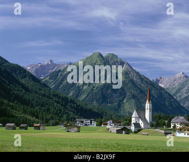 geography / travel, Austria, Tyrol, landscapes, Lochtal at Holzgau, Additional-Rights-Clearance-Info-Not-Available - Stock Photo