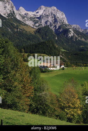 geography / travel, Germany, Bavaria, landscapes, Mühlsturzhörner, Additional-Rights-Clearance-Info-Not-Available - Stock Photo