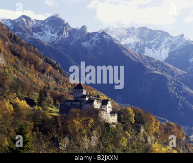 geography / travel, Liechtenstein, Vaduz, castles, Verduz Castle, Additional-Rights-Clearance-Info-Not-Available - Stock Photo