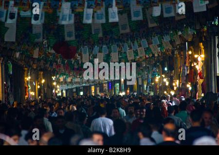 Hamidiyya Souq in Damascus Syria - Stock Photo