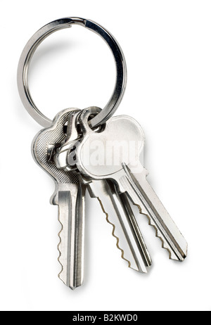 chrome keys - Stock Photo