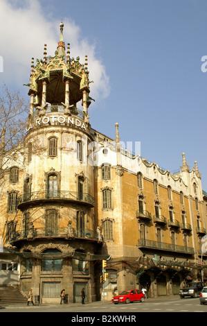 La rotonda barcelona stock photo royalty free image - Placa kennedy barcelona ...