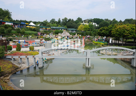 Legoland Windsor, Berkshire, a family theme park in the UK - Stock Photo