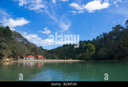 Leigh inlet on the North island of New Zealand - Stock Photo