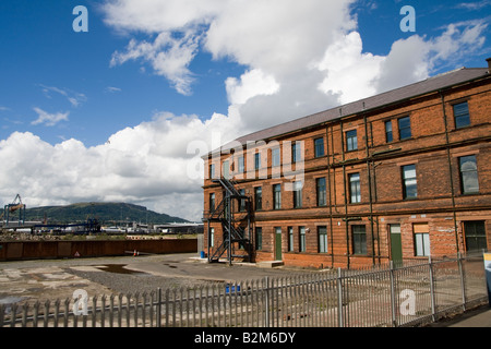 Harland and Wolff shipyard Belfast Northern Ireland The drawing rooms - Stock Photo