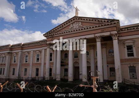 Former Crumlin Road courthouse Belfast Northern Ireland - Stock Photo