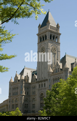 The Old Post Office built in the 1890s and recently turned into a hotel by Donald Trump - Stock Photo
