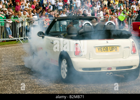 Russ Swift display team performing doughnuts at the Seafront Spectacular,Arbroath Scotland UK - Stock Photo