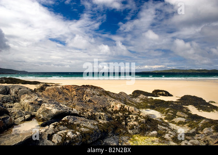 Traigh Lar, Horgerbost, Isle of Harris, Scotland - Stock Photo