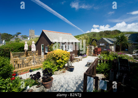 Wayside Folk Museum in Zennor near St Ives Cornwall West Country England UK United Kingdom GB Great Britain British - Stock Photo