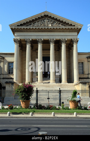 Law courts in  Montpellier  Languedoc Roussillon,  France - Stock Photo