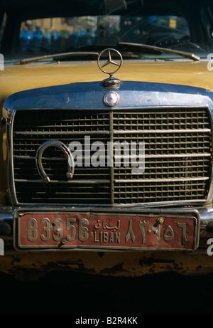 Old car, Beirut, Lebanon - Stock Photo