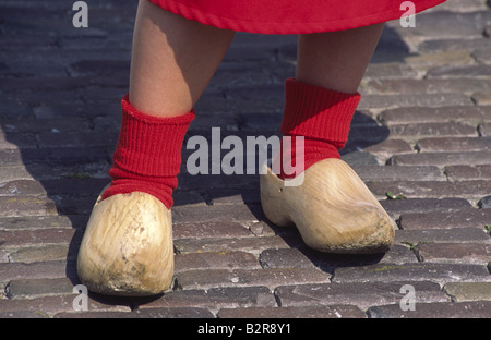 Dutch traditional clogs. Alkmaar, Netherlands. - Stock Photo