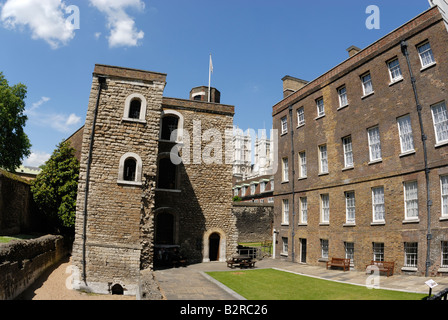 Jewel Tower or King's Privy Wardrobe, London - Stock Photo