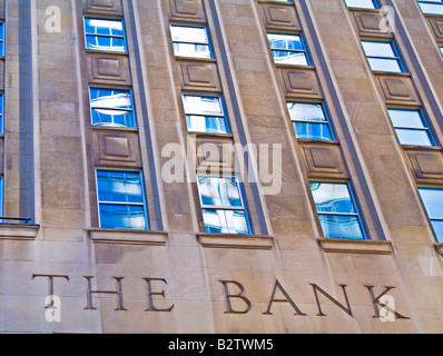 Bank building financial institution - Stock Photo