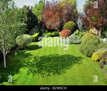 GB - GLOUCESTERSHIRE: Garden Scene at Parkgate, Cheltenham - Stock Photo