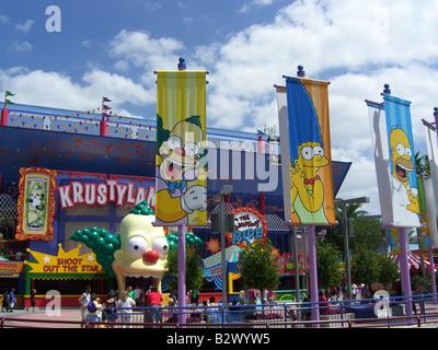 Universal Krusty Land - Stock Photo