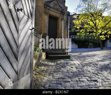 DE - BAVARIA:  Alte Hofhaltung next to the Kaiserdom in Bamberg (Oberfranken) - Stock Photo