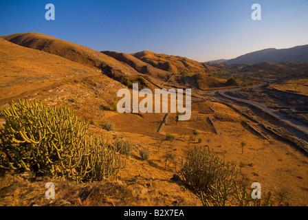 Rajasthani Landscape near Udaipur, Rajasthan, India, Subcontinent, Asia - Stock Photo