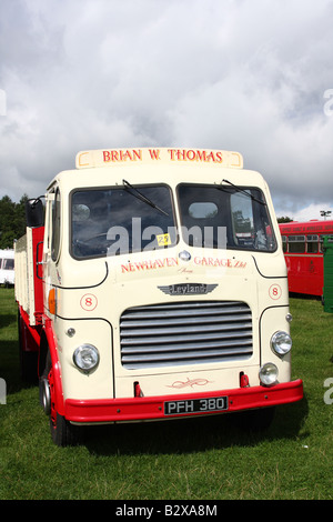 A vintage Leyland lorry at the Cromford Steam Engine Rally 2008. - Stock Photo